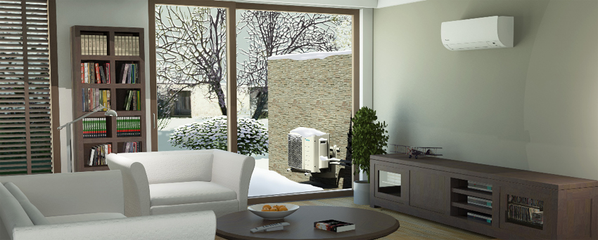 Ductless Mini Split Cold Climate - Daikin Extended Temp Ductless